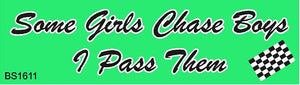Magnetic Car Sign-Girls pass them