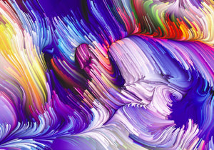 Canvas Wrap-Abstract Purple
