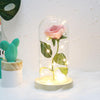 Ewige Rose - Ewige Rosenblüte - LED Rosen In Box - Goldene Rose