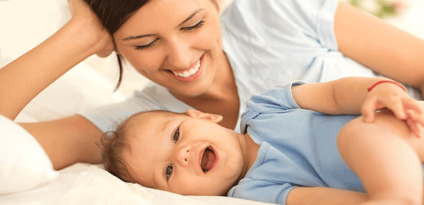 Baby Care Routine Close To Nature