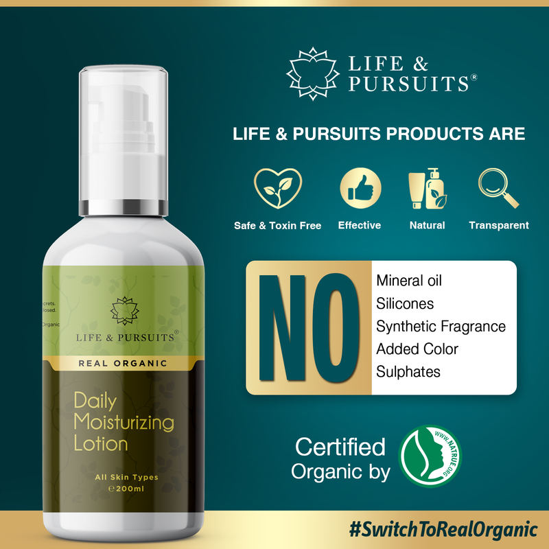 Organic Nourishing Body Lotion
