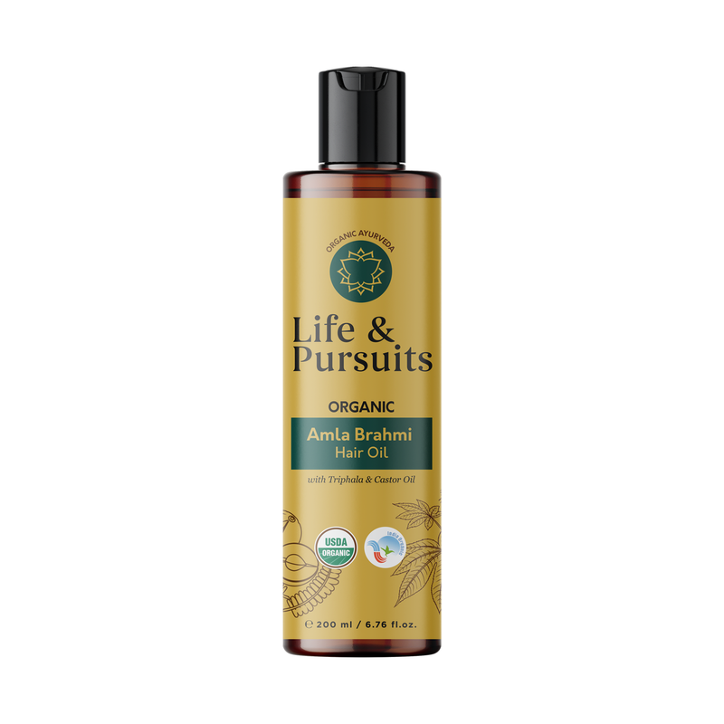 Organic Amla Brahmi Hair Oil