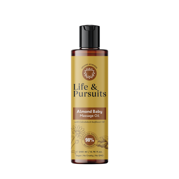 Organic Almond Baby Massage Oil