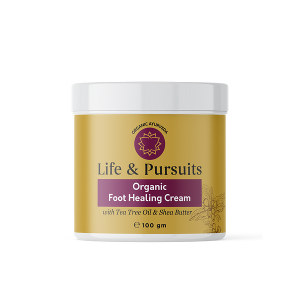 Organic Foot Healing Cream, 100 gm