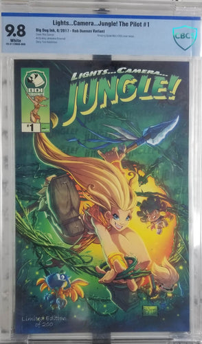 Lights Camera Jungle! Exclusive Amazing Spider-Man #300 homage 9.8