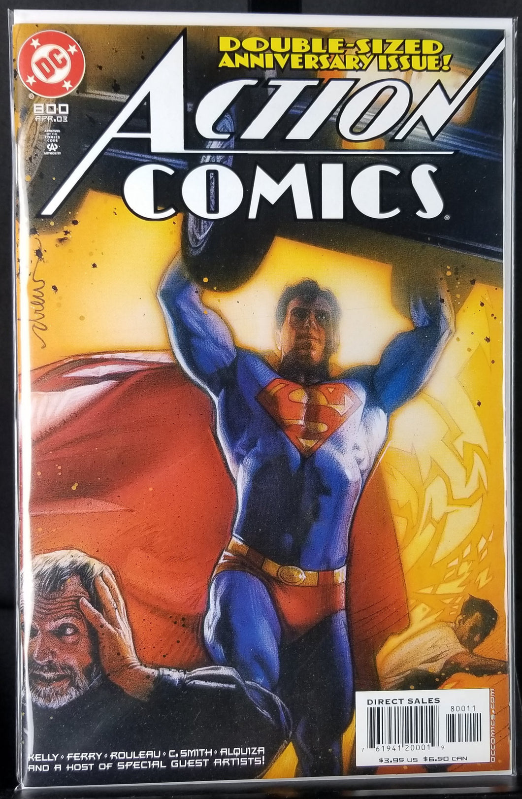 Action Comics #800 Action Comics #1 homage