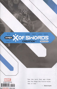 X of Swords, Creation, part 1 of 22, i variant.  Second printing, marvel.