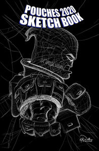 Pouches Sketch Book 2020, an homage to Amazing Spider-Man #55 1/21