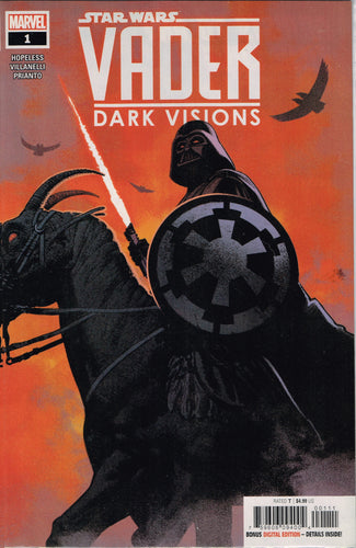 Vader Dark Visions #1 a homage to Frank Frazetta's Death Dealer