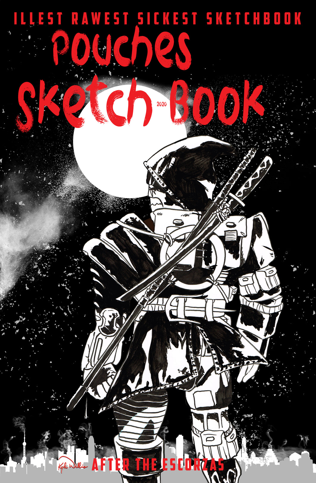Pouches Sketch Book 2020 Sketch Edition TMNT Last Ronin #1 Tribute