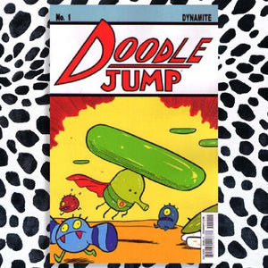 Doodle Jump 1A 2014 Dynamite, an Action Comics #1 Cover Swipe Homage