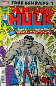 Incredible Hulk Vol. 1, No. 324 True Believers Cover Swipe Homage