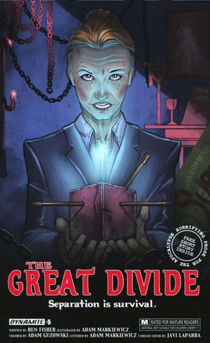 Great Divide #5 Cover B - A Hellraiser Film Poster Cover Swipe Homage