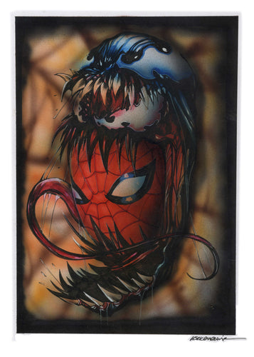 Venom Carnage Spider-Man Original Illustration by Görkem Demir