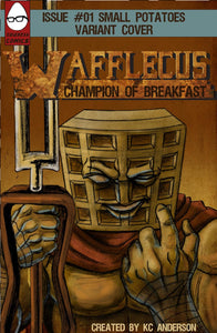 Wafflecus Champion of Breakfast #1, a homage of Wolverine Vol. 1 #1