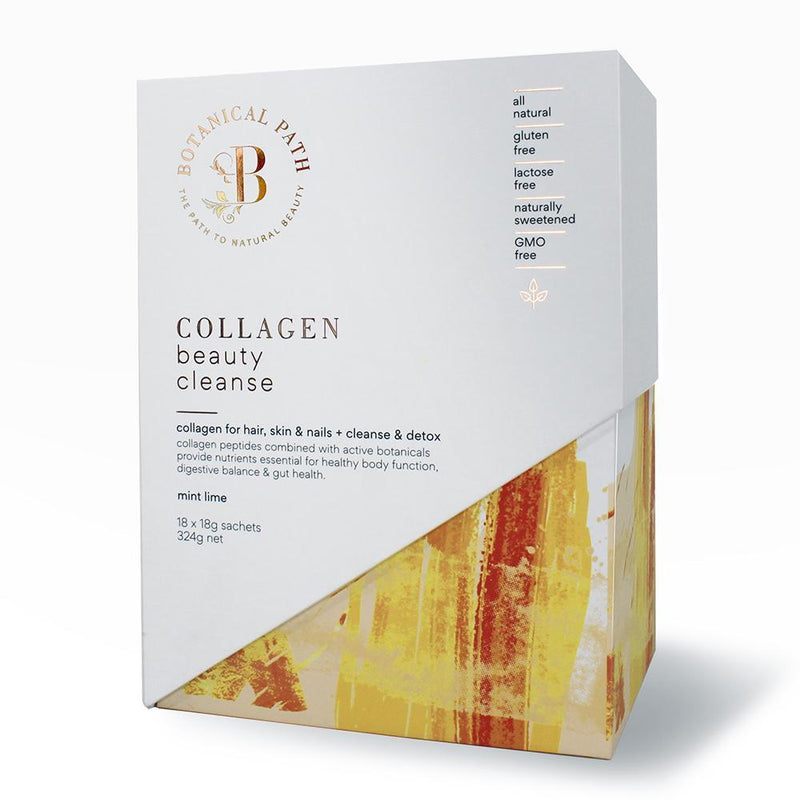 Botanical Path Collagen Beauty Cleanse - Mint Lime-Botanical Path-THE GLOW STORE