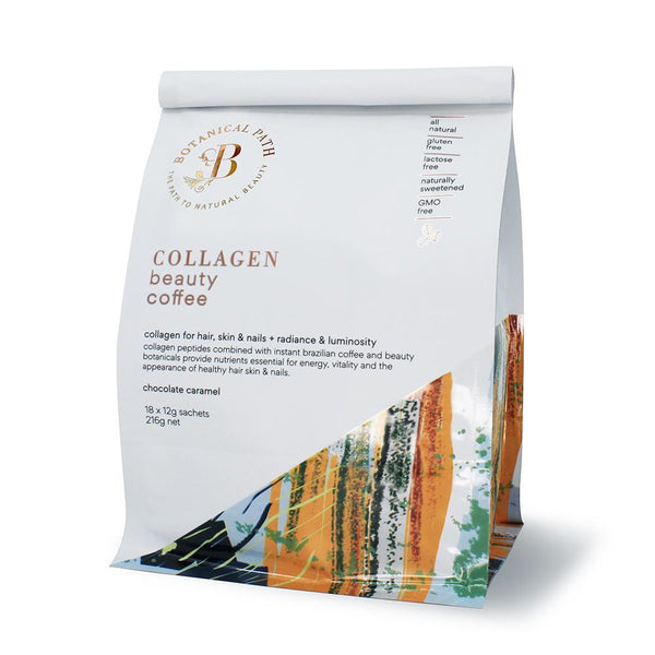 Botanical Path Collagen Beauty Coffee - Chocolate Caramel-Botanical Path-THE GLOW STORE