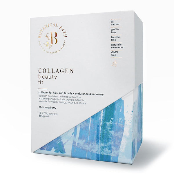 Botanical Path Collagen Beauty Fit - Choc Raspberry-Botanical Path-THE GLOW STORE