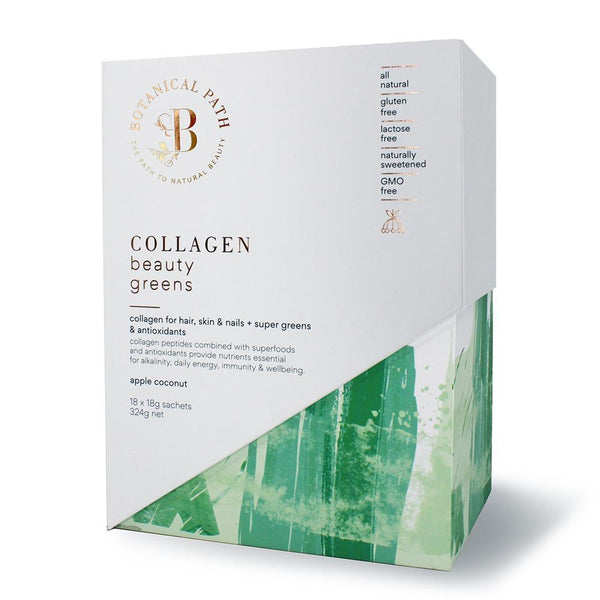 Botanical Path Collagen Beauty Greens - Apple Coconut-Botanical Path-THE GLOW STORE