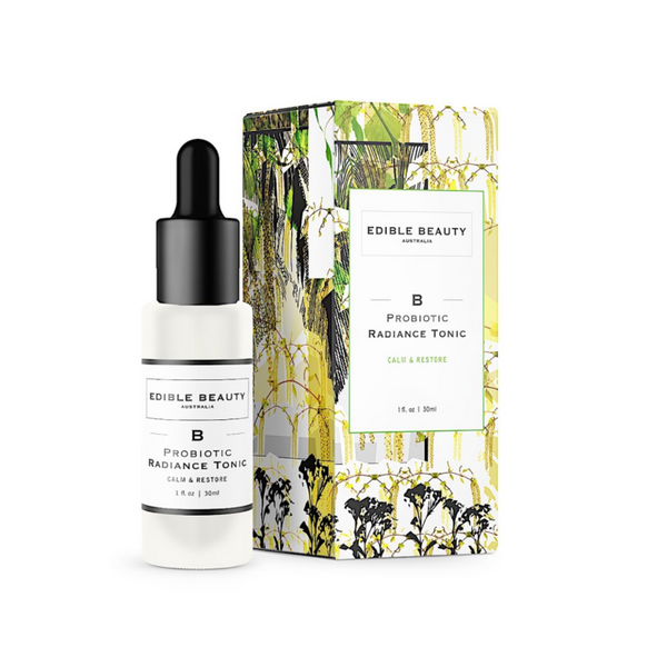 Edible Probiotic Radiance Tonic - Calm & Restore - Booster Serum - Vegan - Pregnancy Safe 30ml-Edible Beauty-THE GLOW STORE