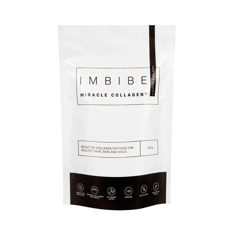 Imbibe > Miracle Collagen Powder 300g - Bioactive Collagen Peptides For Healthy Hair, Skin, Nails-Imbibe-THE GLOW STORE