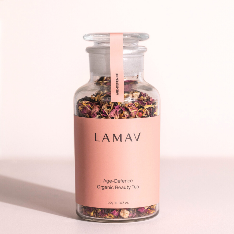 La Mav Age-Defence Organic Beauty Tea 90g-La Mav-THE GLOW STORE