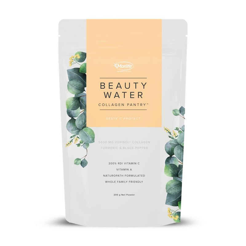 Morlife Collagen Pantry Beauty Water - Zesty C Project The Glow Store