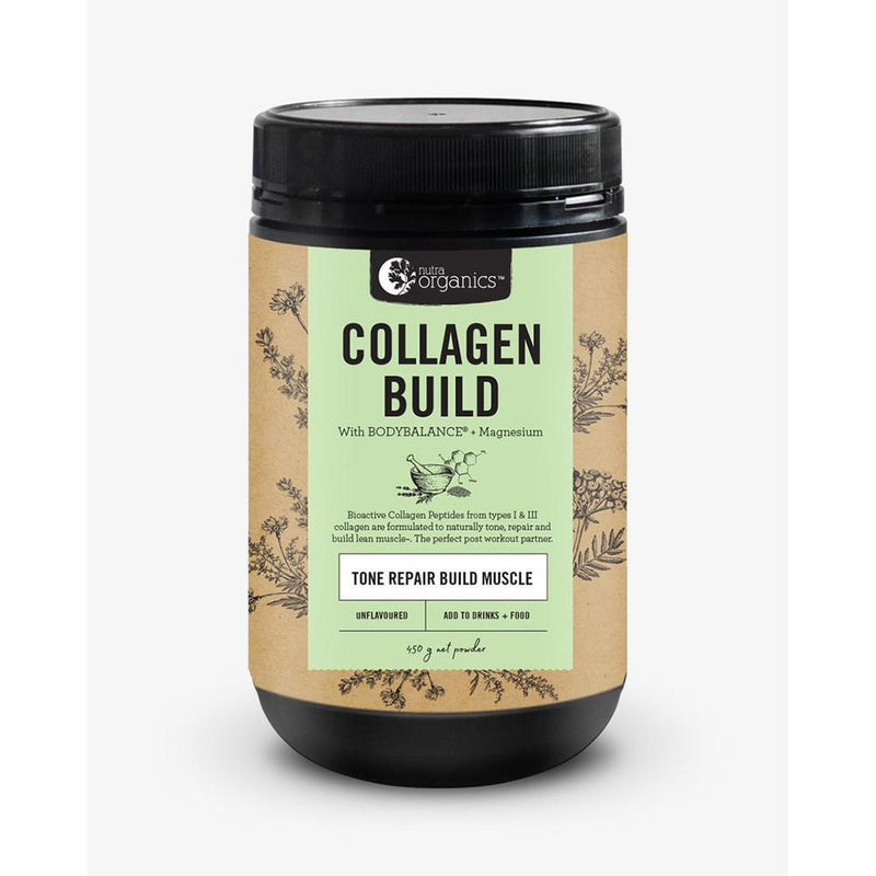 Nutra Organics Collagen Build - BODYBALANCE® Bioactive Collagen Peptides The Glow Store