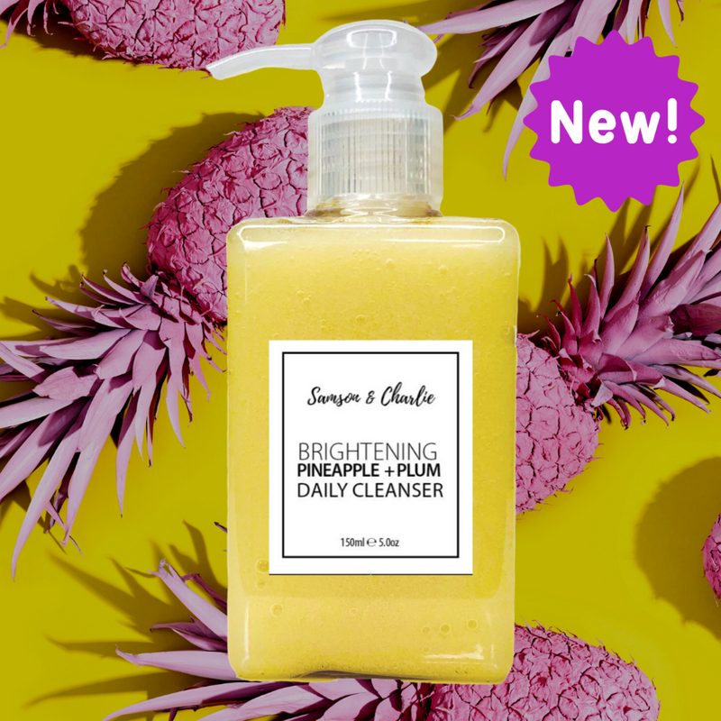 Samson & Charlie Brightening Pineapple B3+BHA Daily Facial Cleanser-Samson & Charlie-THE GLOW STORE