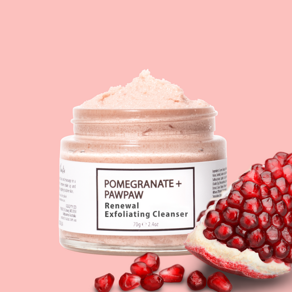 Samson & Charlie Renewal Anti-aging Exfoliating Cleanser Pomegranate + Pawpaw-Samson & Charlie-THE GLOW STORE