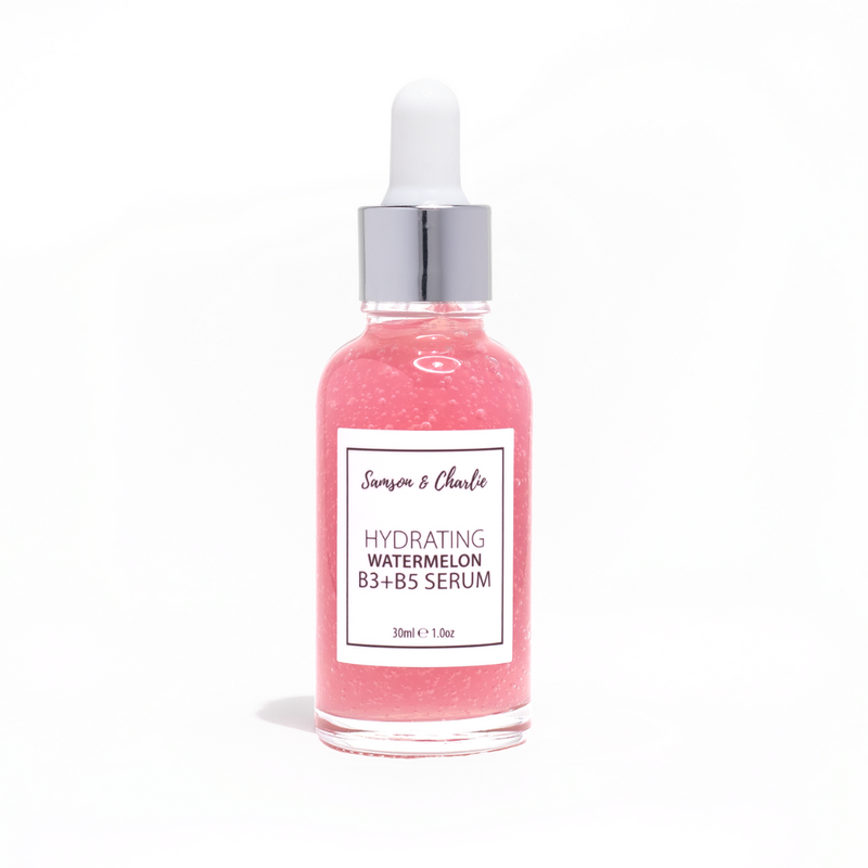 Samson & Charlie Very Hydrating Watermelon Vitamin B3 + B5 Facial Serum-Samson & Charlie-THE GLOW STORE