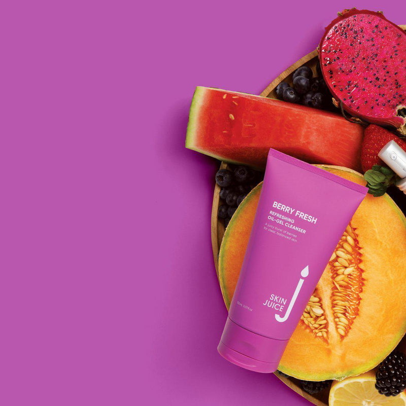 Skin Juice Berry Fresh Oil Gel Cleanser The Glow Store