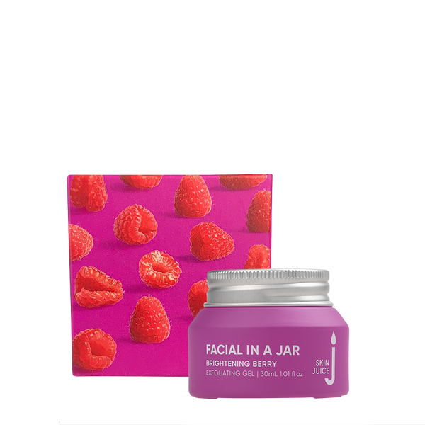 Skin Juice Facial In A Jar - Brightening Berry Exfoliating Gel 30ml-Skin Juice-THE GLOW STORE