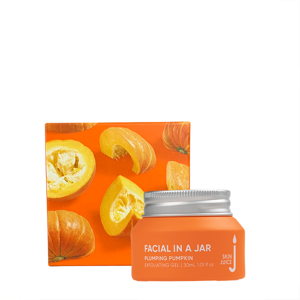 Skin Juice Facial In A Jar - Plumping Pumpkin Exfoliating Gel 30ml-Skin Juice-THE GLOW STORE