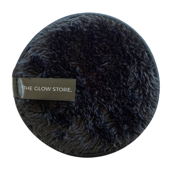 Super Soft Reusable Makeup Remover Pad - Black-The Glow Store-THE GLOW STORE