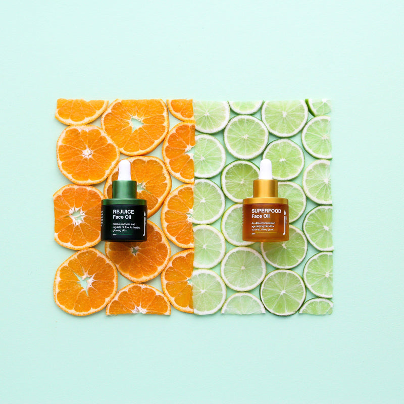 The Face Oil Duo - Samples / Testers of Skin Juice Face Oils - 2 x 3ml-Skin Juice-THE GLOW STORE