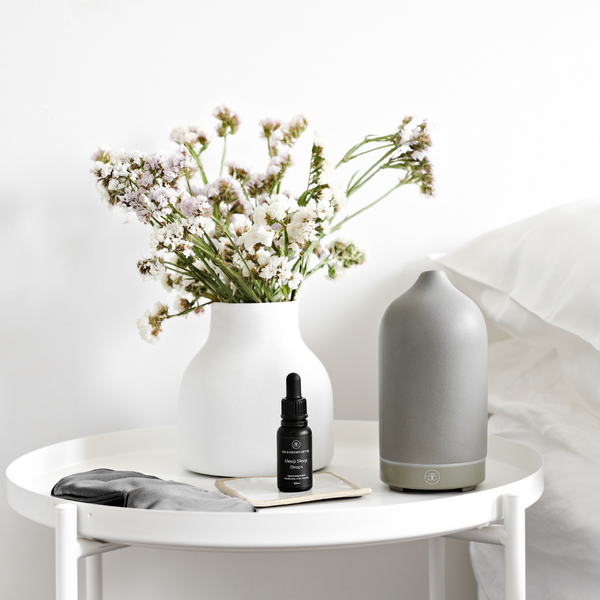 The Goodnight Co Ceramic Essential Oil Diffuser-The Goodnight Co.-THE GLOW STORE