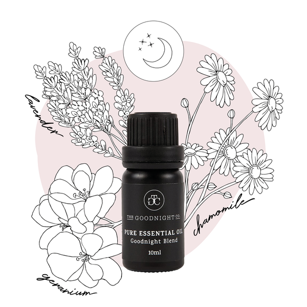 The Goodnight Co. Pure Essential Oil Goodnight Blend - 10ml-The Goodnight Co.-THE GLOW STORE