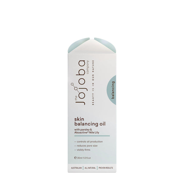 The Jojoba Company Skin Balancing Oil With Bakuchiol & Akoactive® Nile Lily 30ml-The Jojoba Company-THE GLOW STORE