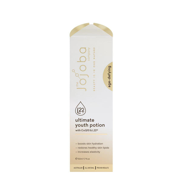The Jojoba Company Ultimate Youth Potion + L22® Face Oil Serum 50ml-The Jojoba Company-THE GLOW STORE
