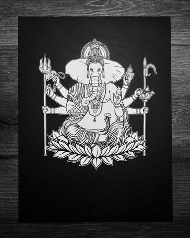 Lord Ganesha, the Creator