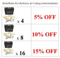 Club Set - RoboRobo Kit - Robotics & Coding (Intermediate)