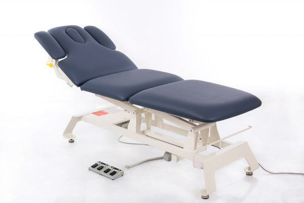 Massageliege Camino Treatment in Agate Blue - Elektrisch verstellbar