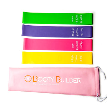 Booty Builder® Mini Bands 4er Trainingsset