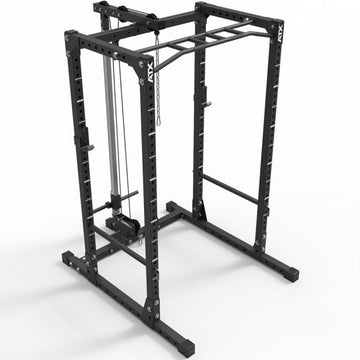 ATX® Power Rack – Komplettstation- 610 mit Plate Load Latzugstation Höhe 198 cm