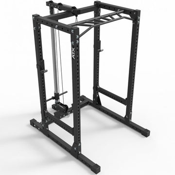 ATX® Power Rack – Komplettstation- 710 mit Plate Load Latzugstation Höhe 198 cm