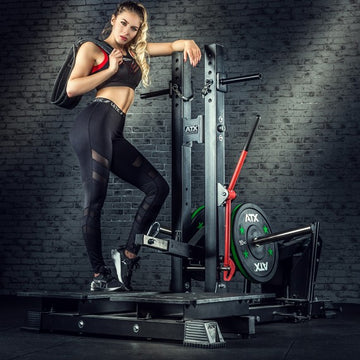 ATX® BELT SQUAT MACHINE - KNIEBEUGEN & DIPS MASCHINE