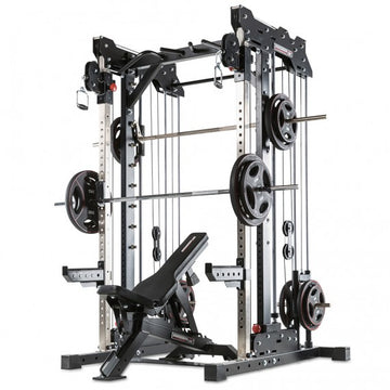 BARBARIAN LINE - SMITH CABLE RACK - PLATE LOAD