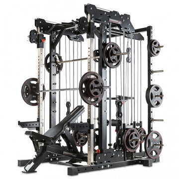 BARBARIAN LINE - SMITH CABLE RACK - KOMPLETTSET - PLATE LOAD