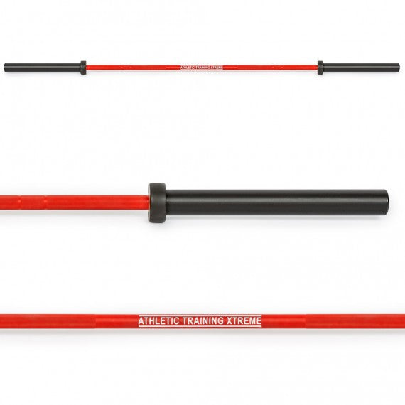 ATX® Cerakote Multi Bar - Langhantelstange in Fire Red